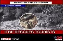 Watch: ITBP carries out rescue operations in Chamoli