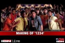 Chennai Express: Making of  '1234, Get On The Dance Floor' song