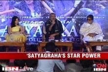 Launch of first look of Prakash Jha's 'Satyagraha'