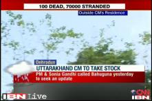 Watch: Bad weather conditions hit rescue operations in Uttarakhand
