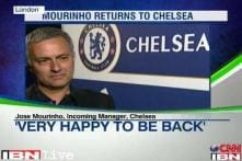 Very happy to be back at Chelsea: Jose Mourinho