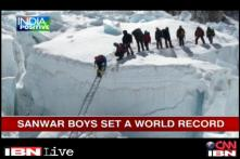 Sanawar boys become the first ever school team to climb Mt Everest