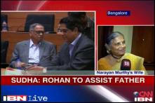 Narayana Murthy's wife speaks about son Rohan's role at Infosys