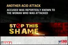 Ghaziabad: Two men throw acid on a woman's face