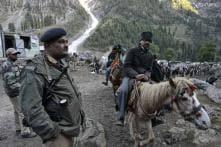 Locals, security men clash at Amarnath Yatra's Baltal camp