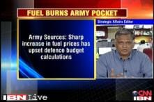 Defence Ministry reworks on its budget as fuel price rises