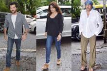 Anil Kapoor, Raveena Tandon and others pay their condolence at Jagdish Raj's prayer meeting