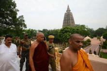 Mahabodhi temple reopens a day after blasts; no lead from CCTV footage