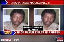 SP, 4 others killed in Naxal attack