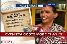 Can one get a meal for Rs 5? CNN-IBN finds out