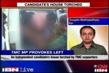 WB panchayat polls: TMC supporters allegedly torch Independent candidate's house