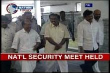 Defence Minister AK Antony reviews security situation