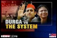 UP govt serves chargesheet to suspended IAS officer Durga