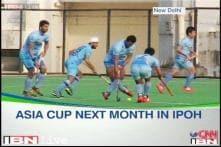 Indian hockey team set for big test