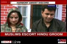 Kishtwar: Muslim neighbours help Hindu doctor marry
