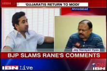 Congress should clarify Nitesh Rane's remarks: Vyas