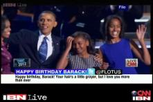 Michelle sends birthday wishes to Barack Obama on Twitter