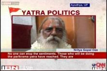 Ayodhya yatra not a flop show, people are doing parikrama: Saint