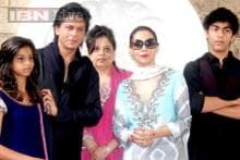 Photos: Shah Rukh Khan and Salman Khan celebrate Eid with family and fans