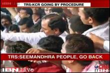 Party defends TRS chief's 'leave Telangana' remark, blames media for misquoting him