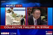 UN chief takes responsibility for failing to control Syrian war crimes