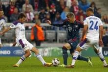 Bayern sparkle in 3-0 win over CSKA in Champions League