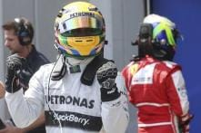 Hamilton sets the pace in first practice at Italian GP