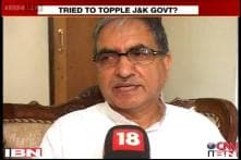 Have always worked for stability of govt: J&K minister