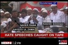 Muzaffarnagar: Political leaders caught on camera while delivering hate speeches