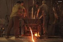 Factory output likely shrank 0.8 per cent in July