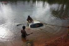 Karnataka Minister jumps into lake to save six people