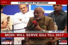 Political reactions on Modi's comment on his PM ambition