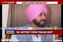 Sidhu accuses Punjab govt of not giving money to develop Amritsar