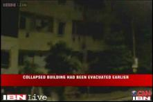 Watch: Building collapses like a pack of cards in Gujarat