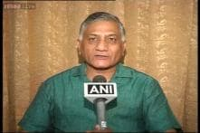 Report of me trying to topple J&K govt motivated: General VK Singh