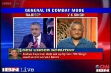 Gen VK Singh admits funds were given to J&K ministers but for social welfare