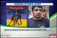 Wrestling back in 2020 Olympic Games