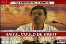 ISI remark: RSS differs with Narendra Modi, says Rahul's claims right to an extent