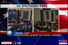 Normalcy returns as US Congress votes to end government shutdown