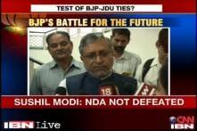 Nitish was callous towards Narendra Modi's rally: Sushil Modi