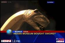 Tipu Sultan's sword auctioned in London