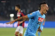 Champions League: Napoli's Hamsik out of Dortmund game