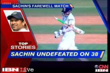 News 360: Sachin's farewell match, unbeaten at 38