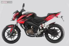 Bajaj Pulsar 200NS with dual-tone colours launched in India