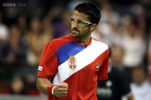 Janko Tipsarevic doubtful for Serbia for Davis Cup final