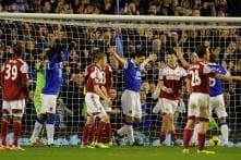 Everton beat Fulham 4-1 to go 4th; West Ham held 0-0 by Sunderland