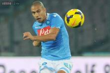 Napoli midfielder Inler eyes Serie A title