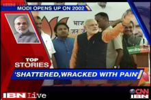 News 360: I was shattered, wracked with pain, says Modi on 2002 riots