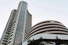 Sensex hits month's closing high as BJP leads exit polls