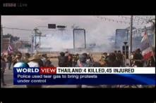 Thailand: 4 dead, 45 injured in fresh anti-government clashes